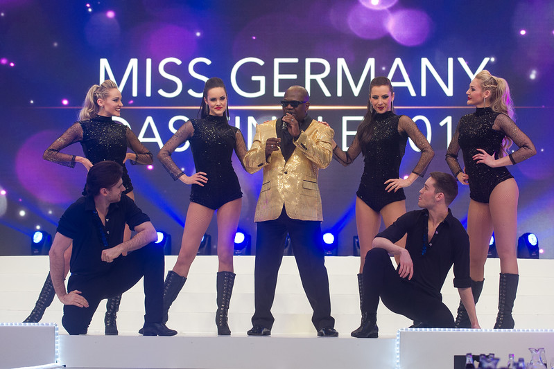Charles Shaw, beim Miss Germany 2017 Finale am 18.02.17 in Rust im Europapark