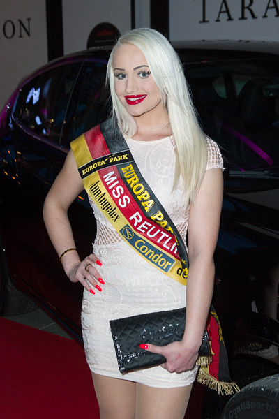 Noemi Ma, Miss Reutlingen 2016, beim Pixx Gala Event am 26.11.15 in Baden-Baden im Casino